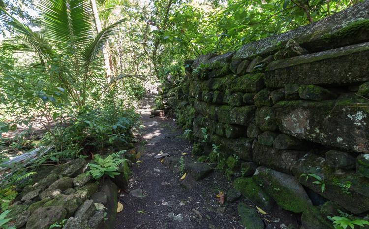 Руины острова Лелу