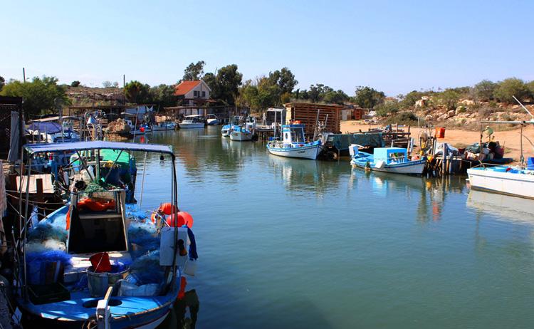 Рыбацкая деревня Лиопетри