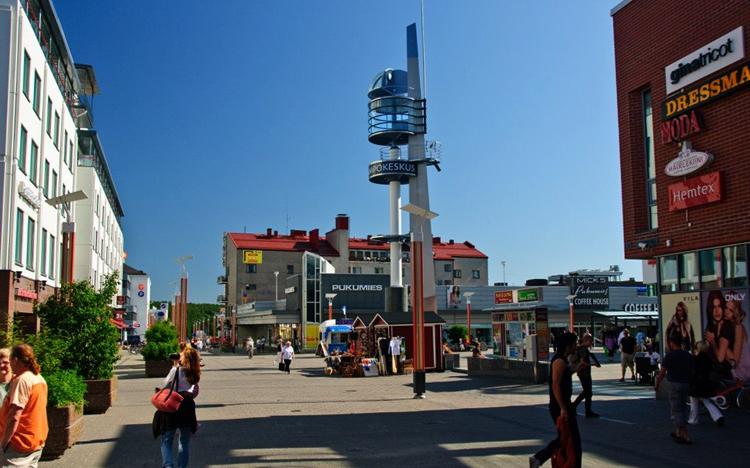 Главная площадь Лорди