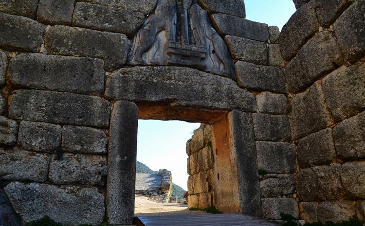 Львиные ворота цитадели