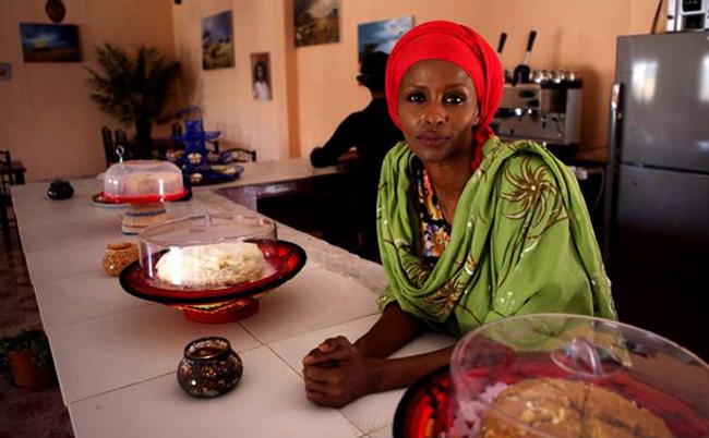 Арт-кафе «Кулан» в Харгейсе