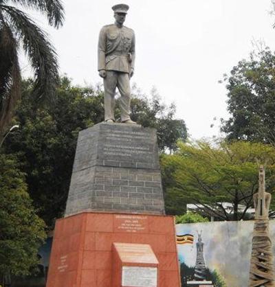 Памятник королю Мутеса Второму