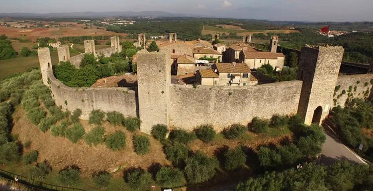 Крепость Монтериджони