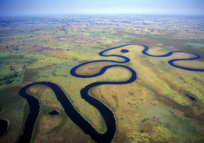 Река Окаванго