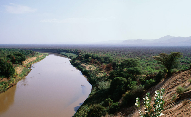 Долина реки Омо