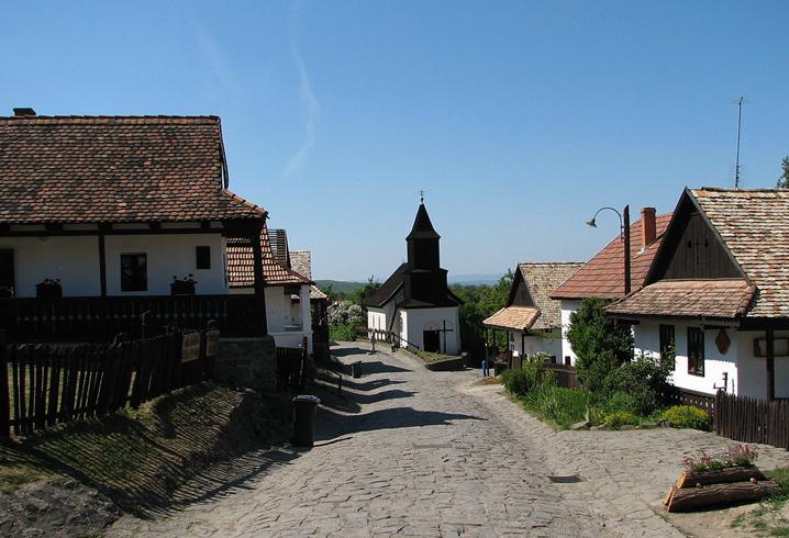 Этнический музей в деревне Холлокё
