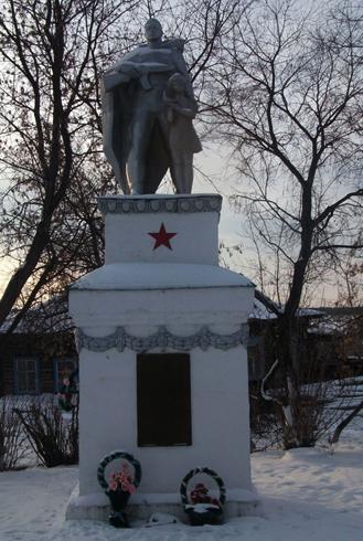 Памятник учителям и ученикам, погибшим в Великой Отечественной Войне