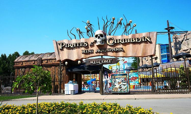 Мини-аквапарк «Пираты Карибского моря»
