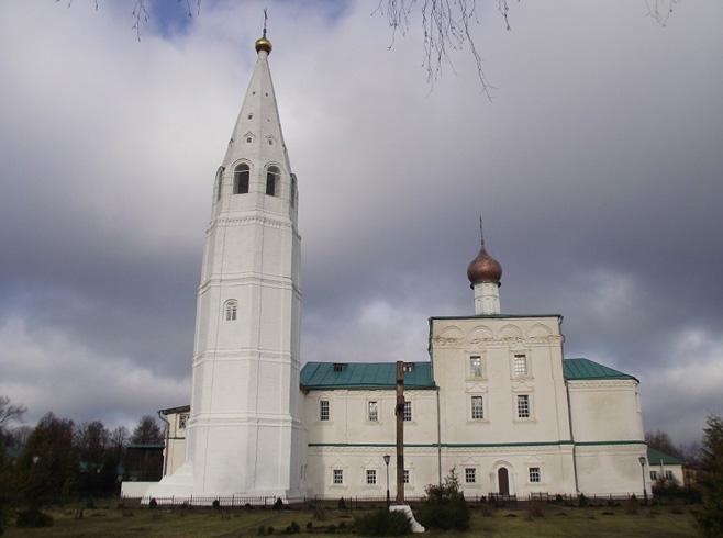 Ежовский мироносицкий монастырь
