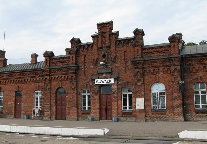 Станция Сувалки