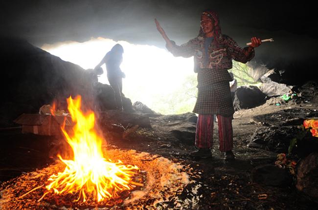 Ритуальная пещера