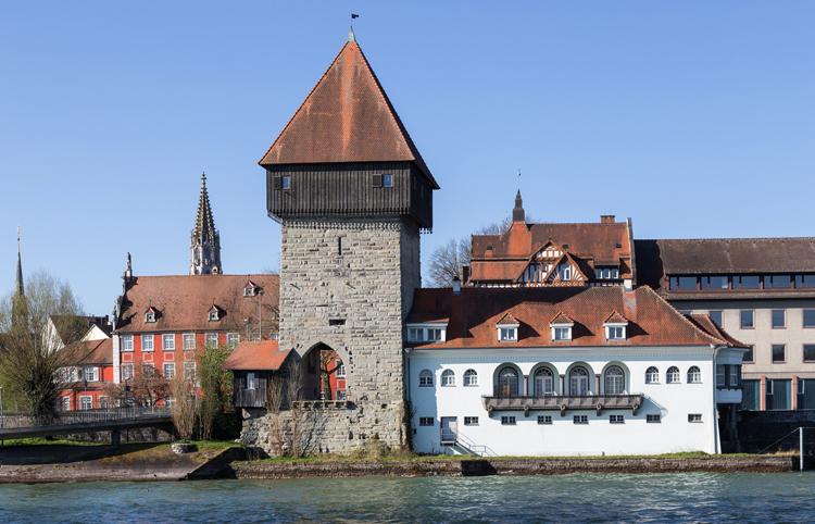 Смотровая башня Rheintorturm
