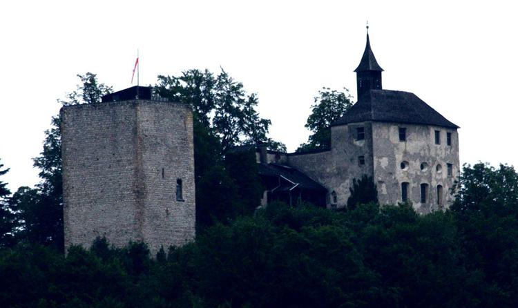 Руины крепости Тирберг