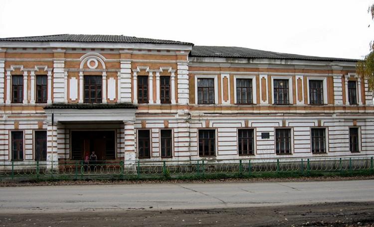 Здание городской школы