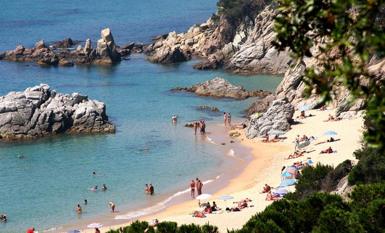 Пляж Са Боаделла