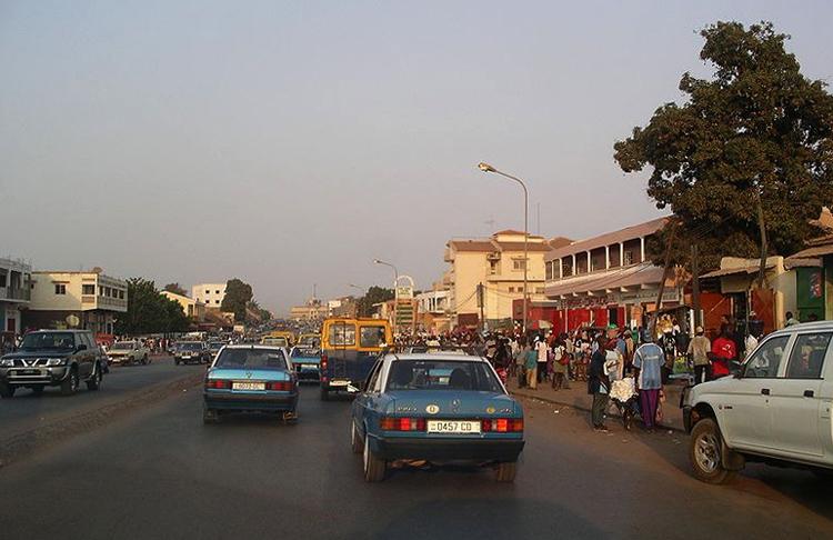 Архитектурный облик столицы страны Бисау
