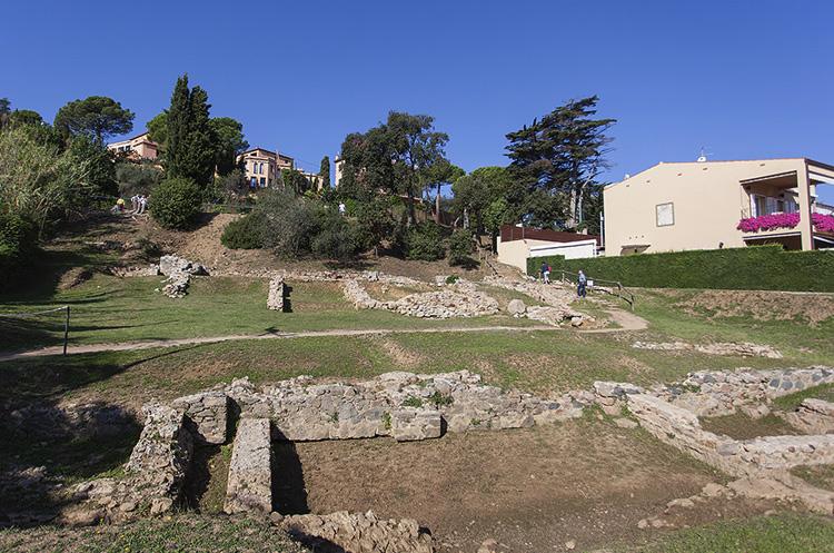 Руины древнеримской Виллы
