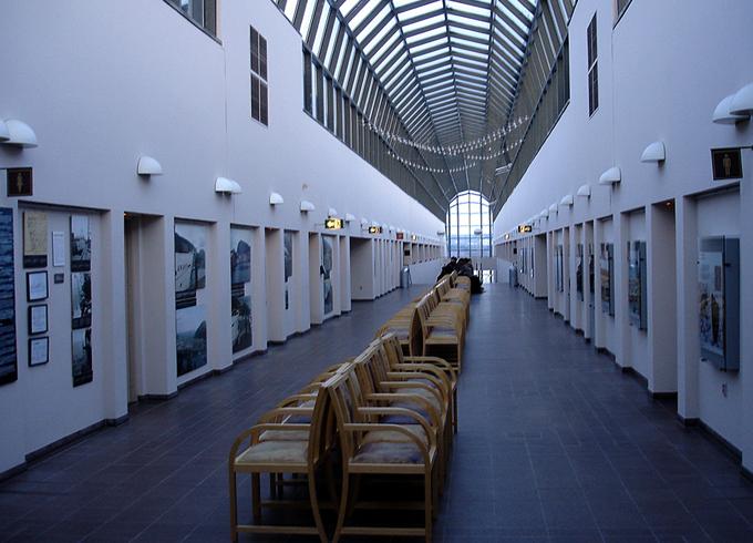 Внутри центра «Арктикум»