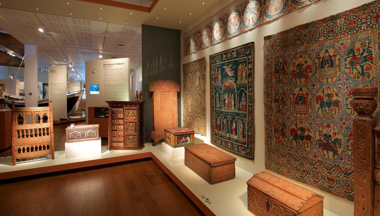 Внутри национального музея