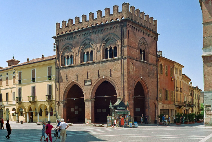 Историческое здание «Loggia dei Militi»
