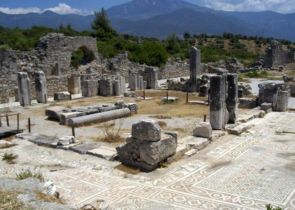 Античный город Ксантос