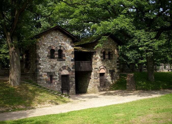 Археологический парк – Заальбург