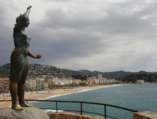 Памятник жене рыбака