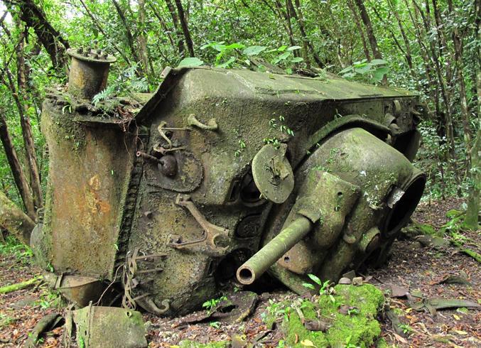 Экспозиции времен 2-ой мировой войны