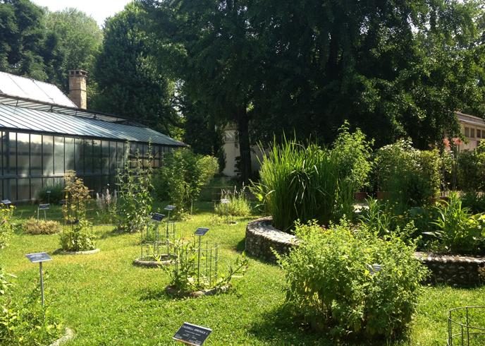 Ботанические сады Болоньи