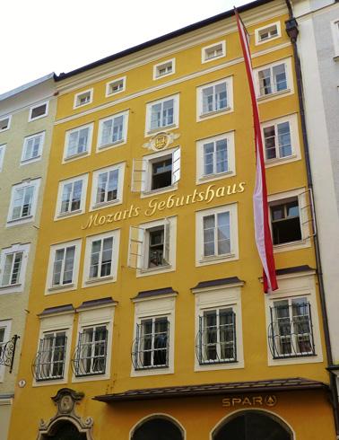 Резиденция Моцарта