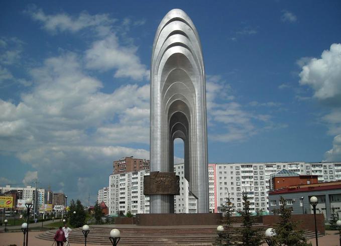 Памятник нефти