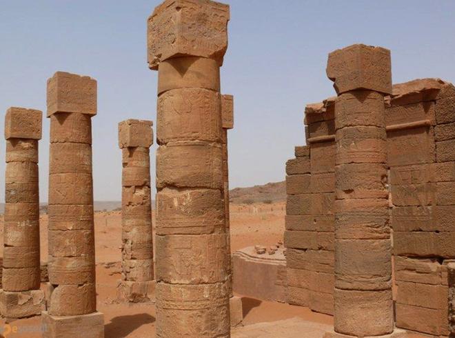 Руины храма Амона
