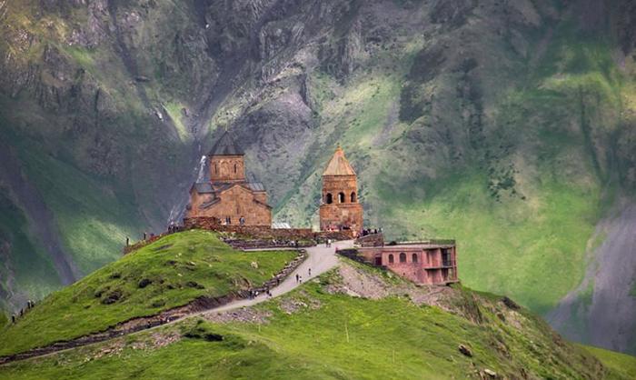 Гергетская Троицкая церковь