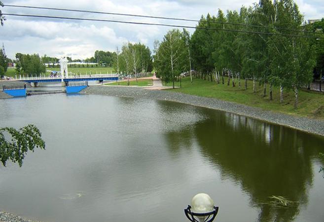 Интереснейший каскад прудов в г.Альметьевск