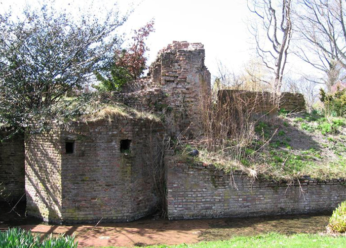 Руины замка Клиф