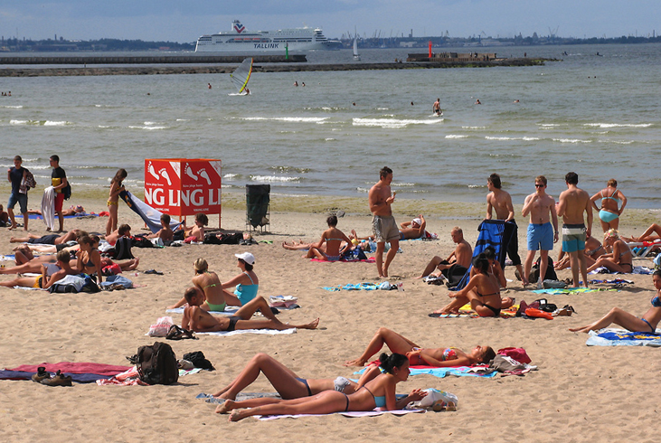 Пляжи Таллина