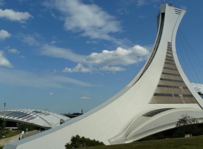 Наклонная башня олимпийского стадиона
