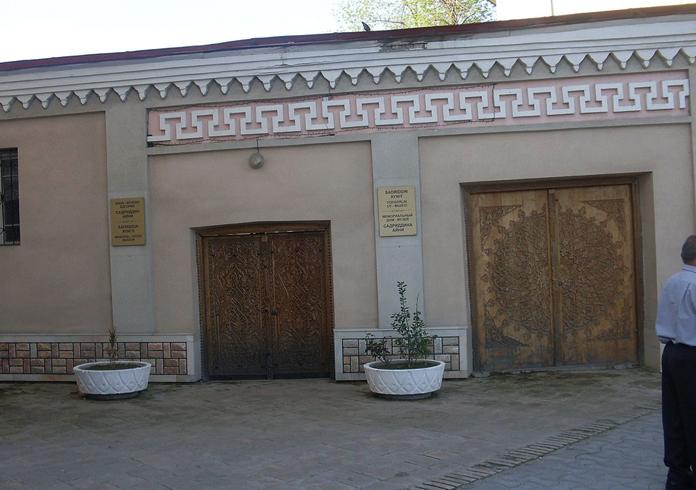 Дом-музей Садриддина Айни