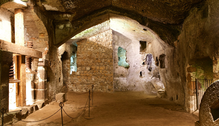 Подземный Орвието