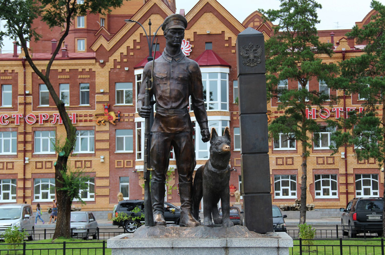 Памятник пограничникам