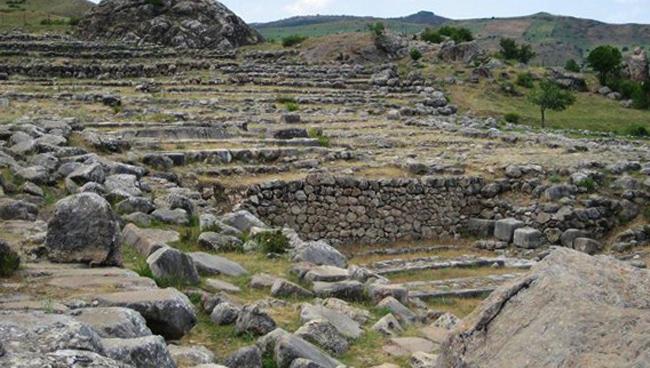 Руины города Хаттуша