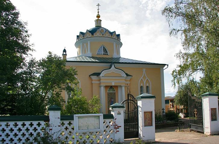 Церковь Вознесения Господня в Перемилово