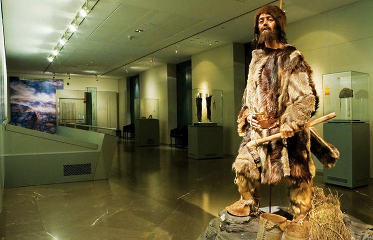 Внутри музея Южного Тироля