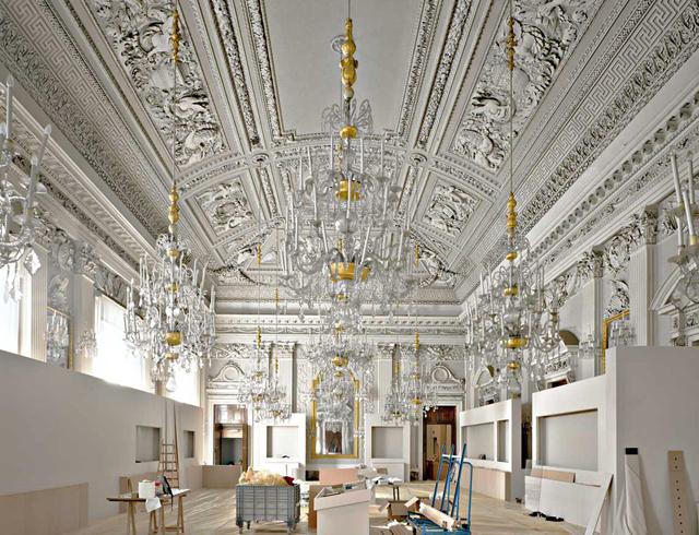 Внутри дворца Питти