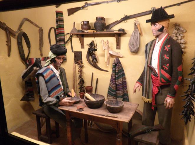 Внутри музея разбойников